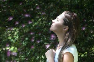 Bewusste Atmung