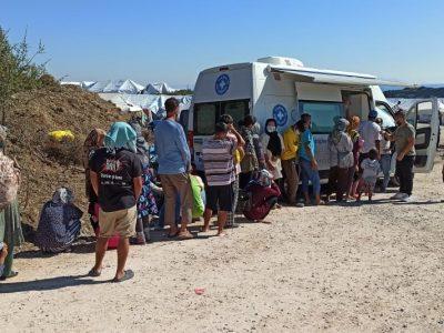 HNO-ärztliche Unterstützung und Fotodokumentation in den Flüchtlingslagern auf der Insel Lesbos
